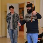 Visita ó Colexio Francisco Lopez Estrada do Barqueiro